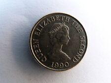 JERSEY 5 pence 1990 élisabeth 2 état voir scan