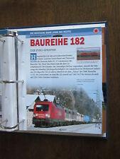 Deutsche Eisenbahngeschichte DB AG seit 1994 Datenblatt: BR 182 Eurosprinter