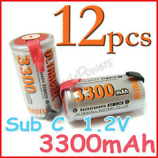 12 Sub C 3300mAh Ni-MH rechargeable battery ULTRACELL