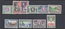 BRITISH HONDURAS 1938 KGVI (SG 150-159 short set upto ) VF MH