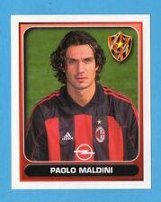 MERLIN - CALCIO 2001 -Figurina n.237- PAOLO MALDINI - MILAN - NEW
