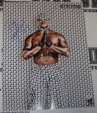 Rey Mysterio Signed WWE Mask 16x21 Magazine Centerfold Poster PSA/DNA COA Auto'd
