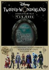 Pre order Disney Twisted Wonderland Official Fan Book Reference Character Art