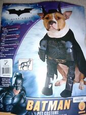 "PUPPY DOG PET HALLOWEEN COSTUME BATMAN DARK KNIGHT MEDIUM 14""-16"" SUPERHERO"