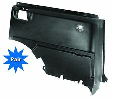 Mustang Quarter Trim Panels Fastback Pair 1967 - 1968 - Dynacorn
