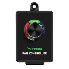 VIVOSUN Variable Inline Duct Fan Speed Controller Vent Blower Speed Adjuster