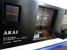 Akai GX-9 3Heads Audiophile Dolby BC Tape Deck Serviced Excellent Condition Rare