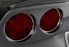C6 Corvette 2005-2013 Chrome Tail Light Trim Kit - 4-Piece Set