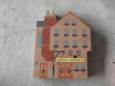 1998 Cats Meow Dickens Christmas Carol Series Fezziwig's Warehouse Building