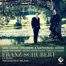 Guillaume Chilemme, Nathana...-Quintet The Trout D667, Fantasie In Ut, D CD NEUF
