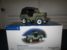 Department 56 Classic Cars 1954 Willy's CJ3 Jeep 56.55287 Snow Village