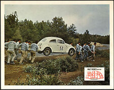 THE LOVE BUG original 1969 DISNEY lobby card 11x14 movie poster VOLKSWAGEN
