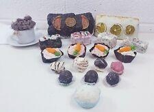 Set of 19 Fake Display Cakes Various Selection Cupcakes Macaroons Truffles