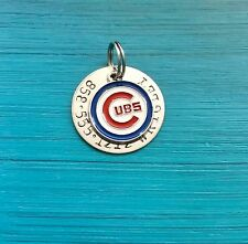 MLB Custom Dog ID Tags, Officially Licensed.  LA Dodgers, Chicago Cubs