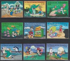 GRENADINES OF ST. VINCENT - DISNEY - CARTOONS - MICKEY'S SEA & SHORE WORKERS