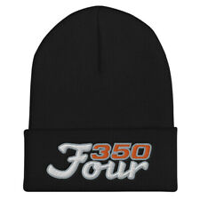 Honda CB350F Embroidered Cuffed Beanie Winter Stocking Hat