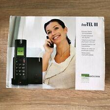 HUMANTECHNIK freeTEL III Set # A-4605-0 Telefon mit Hörverstärker und Bluetooth