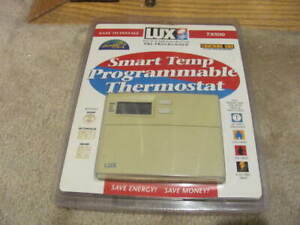 Lux Smart Temp Programmable Thermostat TX 500 brand NEW sealed