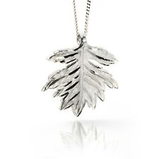 """Silver Necklace Pendant Hawthorn Irish Sacred Trees 18"""" Engraved Sterling Silver"""