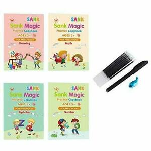 Sank Magic Practice Copybook Nummer Buch schreiben Vorschulstift