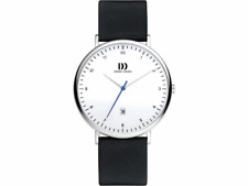 DANISH DESIGN MEN'S WATCH 3314535 Date Leather Wrist Band