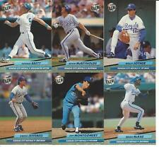 1992 Ultra Kansas City Royals Team Set