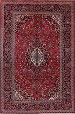 Vintage Floral Ardakan Hand-Knotted Area Rug Living Room Oriental Carpet 7'x10'
