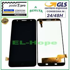 DISPLAY LCD ALCATEL ONE TOUCH OT POP 4 PLUS 5056X OT5056 TOUCH SCREEN VETRO NERO