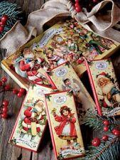 Heidel Confiserie Santa Children Christmas Tree Tin 4 Chocolate Bars 06/30/2019