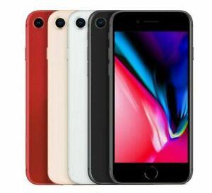 iPhone 8 Factory Unlocked - 64GB/256GB - Verizon ATT T-Mobile (A1863 - A1905)