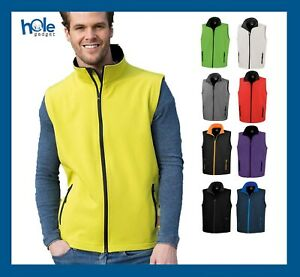 Gilet Softshell Uomo Giacca Jacket Abbigliamento da Lavoro Pesca Giubbotto Moto