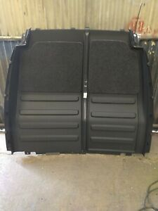 VW Caddy Bulkhead Cover panels / Blanking Panels carpet lined, pair.