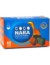 60 Cubes Coco Nara Cubic Coconut Shell Charcoal Hookah Incence CocoNara Carbon