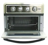 Cuisinart 1800W Stainless Steel Air Fryer Toaster Oven - Silver #TOA60