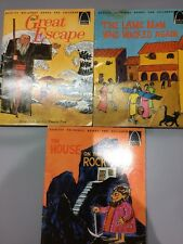 1966 Set Of 3 Arch Books Quality Religious Books For Children Vintage