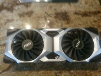 MSI GEFORCE 2080 HOUSING ONLY!!!