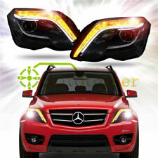 A SET Headlight with LED DRL And Bi-Xenon For 08-15 Mercedes-Benz GLK280 300 350