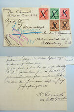 SIGNED German Letter Kerrville, TX, 1902, by Rev. Ermisch (Zion Lutheran Church)