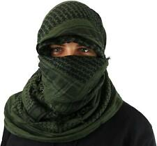 Maddog Shemagh Tactical Desert Scarf Olive Black Paintball Airsoft
