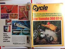 Cycle Magazine April 1970 AJS STORMER 250 YAM 360 RT MERT LAWILL