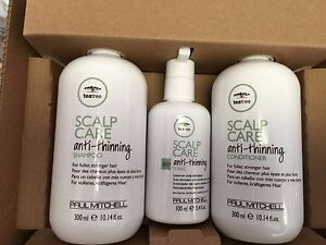 Paul Mitchell Scalp Care Anti-Thinning Shampoo, Conditioner, and Tonic