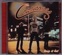 The Casanovas - Keep It Hot - CD (RUB147 Rubber 2002)