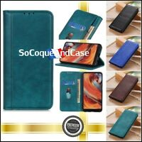Etui coque housse Cuir PU Leather Case Samsung Galaxy A10 A20 A30 A40 A70 A80
