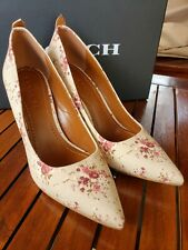 Coach waverly pumps  floral design Size 8.5