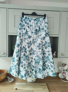 Per Una Summer Skirt Size 10 M&S