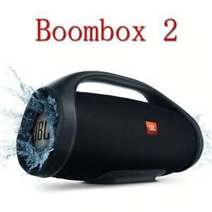 Boombox 2 Waterproof Portable Bluetooth Speaker Wireless Deep Bass Music Box