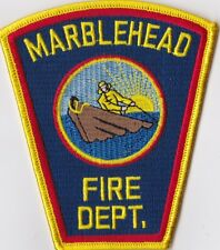 Marblehead Fire Dept. MA Firefighter Patch