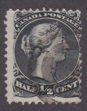 Canada 1868 #21 Large Queen Issue 1/2¢ - VG Used