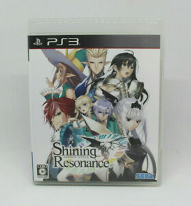 Sony PS3 Playstation - SHINING RESONANCE SEGA Japanese Version
