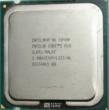 Intel Core 2 Duo E8400 CPU 3.0 GHz  6M 1333 Mhz FSB Processor SLB9J Socket 775